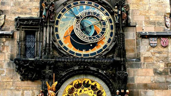 Το αστρονομικό ρολόι στο δημαρχείο της Πράγας