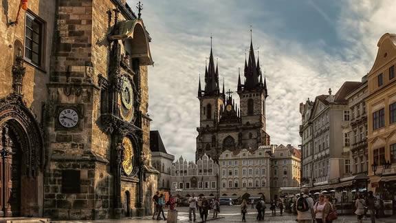 Η παλιά πόλη της Πράγας