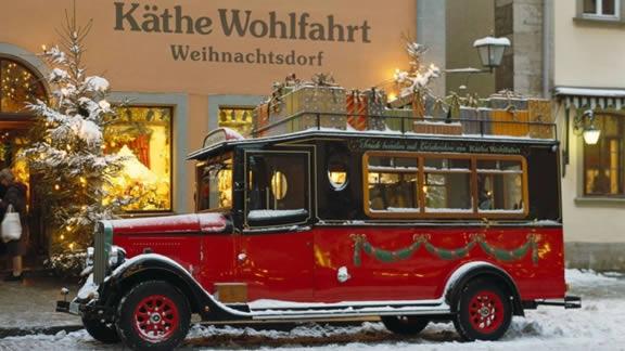 Rothenburg ob der Tauber, Kathe Wohlfahrt truck