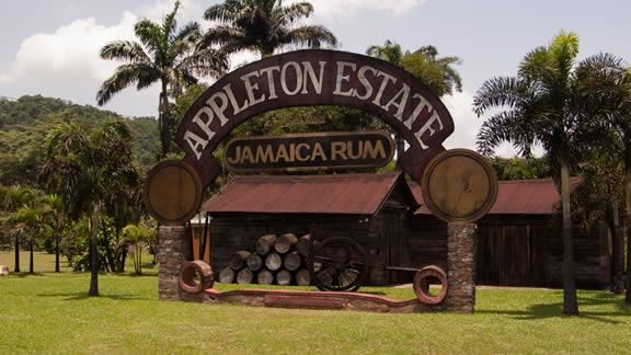 Εργοστάσιο Appleton Estate, Τζαμάικα